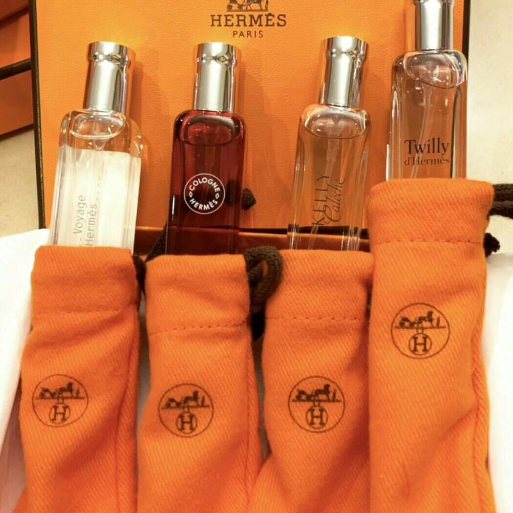 READY Hermes Nomade 15ml x 4pcs (with box & individual pouch)  2.300.000