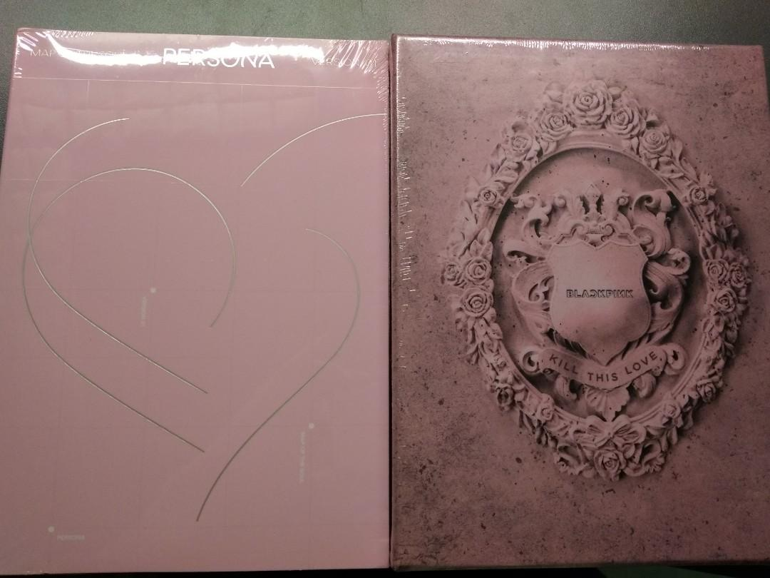 READY STOCK BLACKPINK KILL THIS LOVE BTS MAP OF THE SOUL PERSONA ALBUM