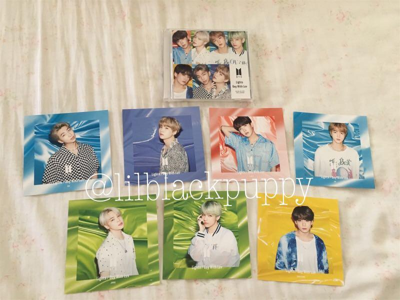[LAST STOCK] BTS Japan Single (Lights/ Boy With Luv) Fanclub Ltd Edition