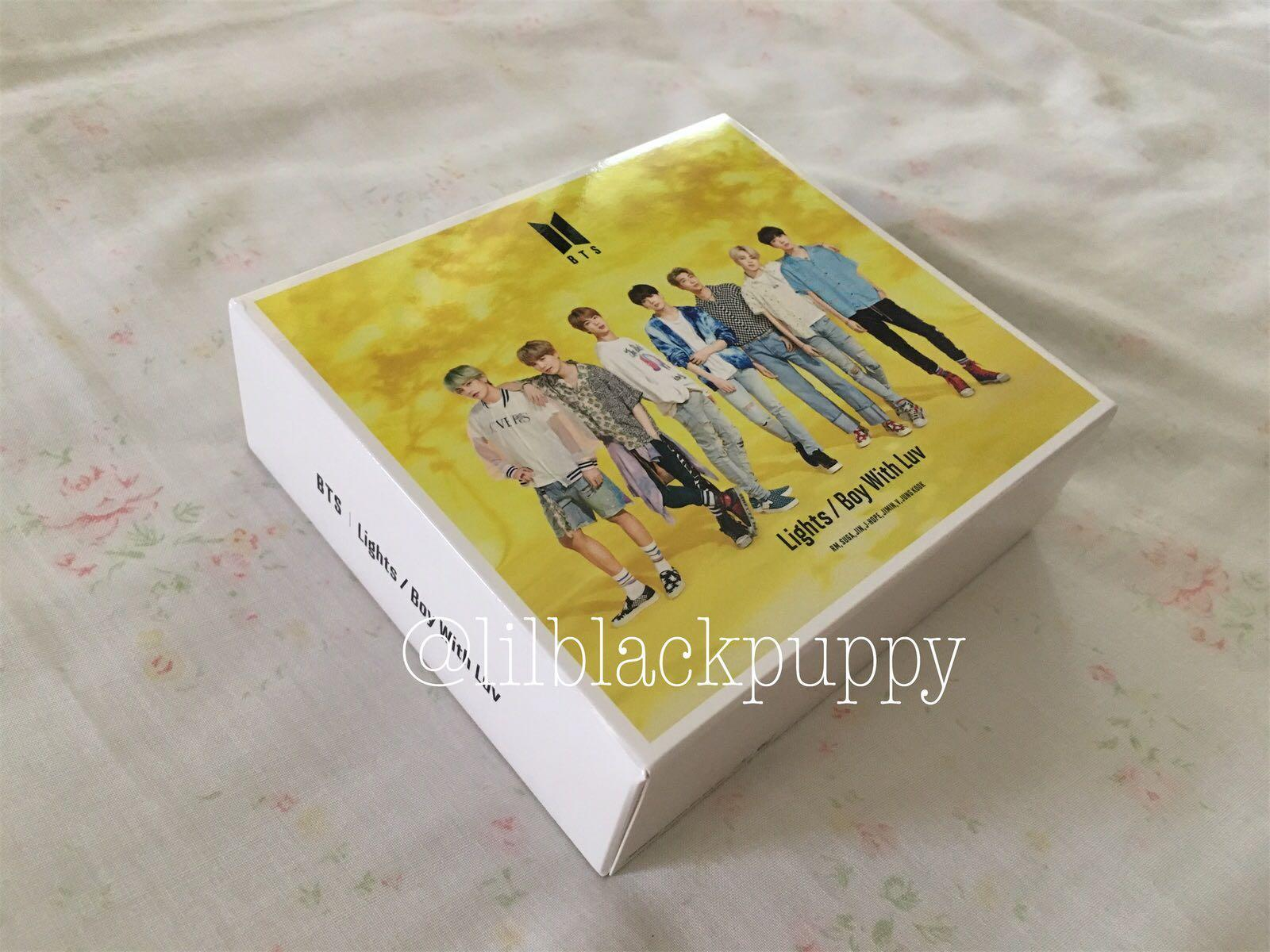 [READY STOCK] BTS Japan Single (Lights/ Boy With Luv) UMS Set