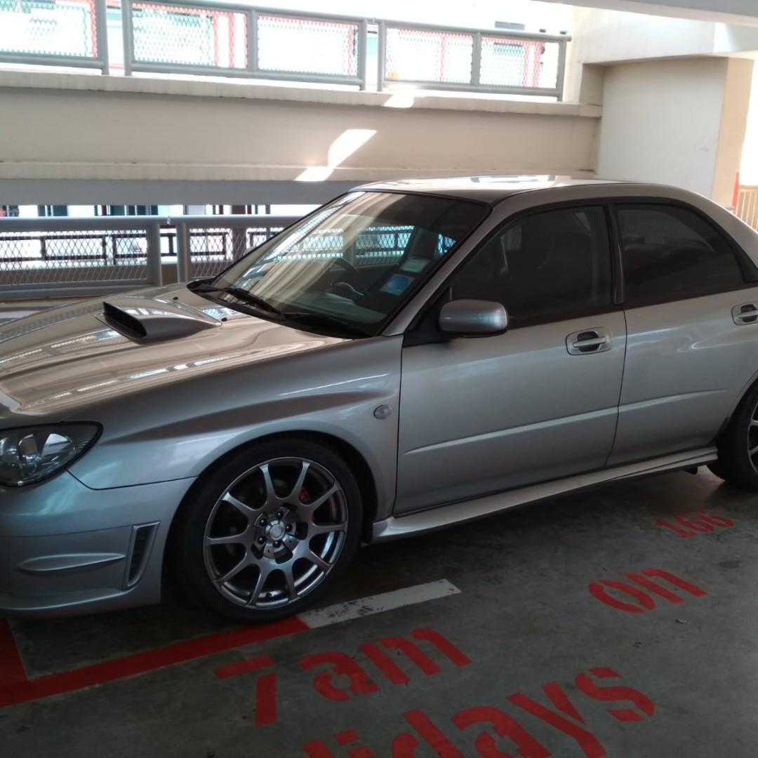 Subaru WRX 2.5 STI Manual