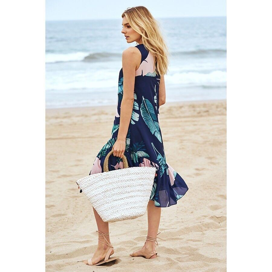 TCL Luela Dropwaist Dress in Size XS