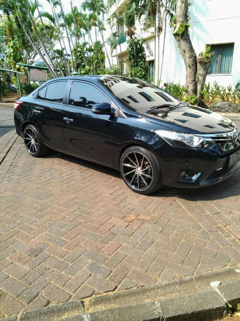 Toyota All new Vios G Automatic 2013 tgn 1 dari baru low km