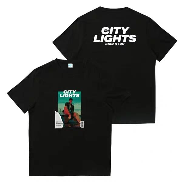 [Preorder] Unofficial EXO Baekhyun City Lights Tshirt