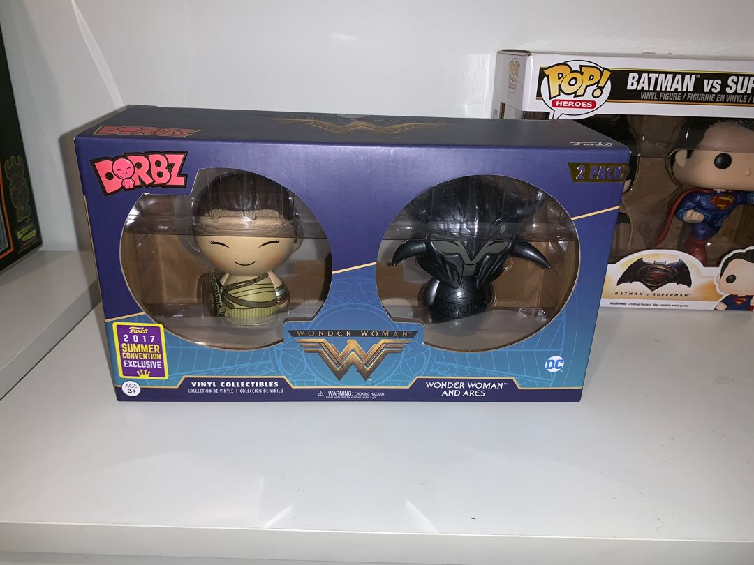 Wonder Woman and Ares Dorbz 2-pack SDCC 2017 Exclusive