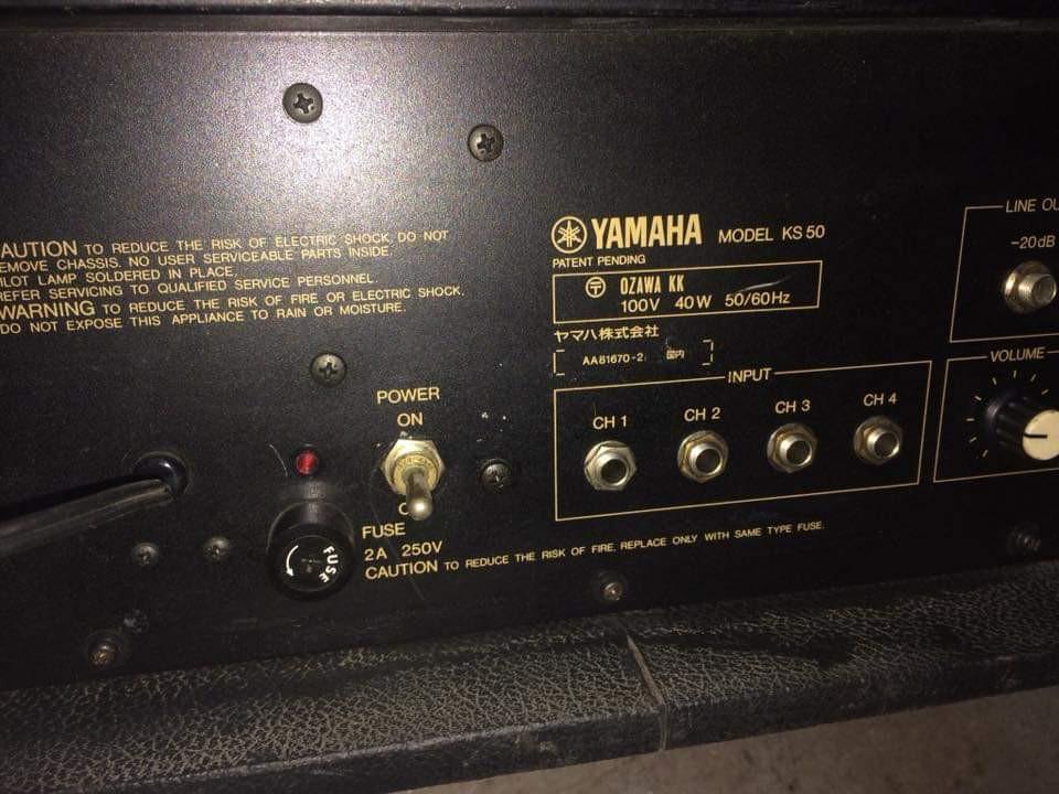 Yamaha ks50 keyboard amplifier, Music & Media, Music Accessories on
