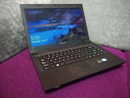 laptop lenovo b490 intel core i3 4gb ram nvidia geforce 610m normal