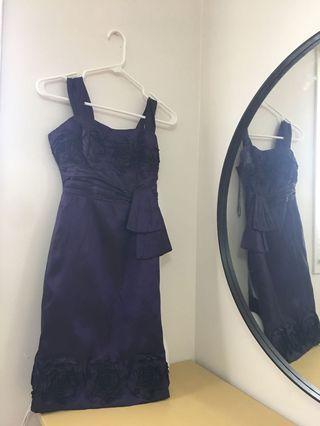 Purple Graduation Dress