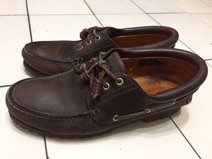 Timberland Authentics Handsewn Boat Shoe 60%new