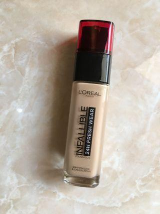Loreal fresh wear foundation