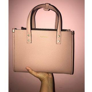"""(Preloved) Hush Puppies ToteBag Cassie Double Handle """"L"""""""