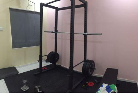 Power Rack and Gym Accessories