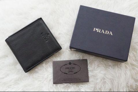 Authentic Prada Men Wallet