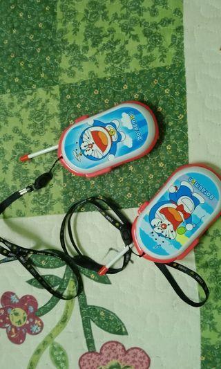 MURAH! [Include postage] Doraemon walkie talkie