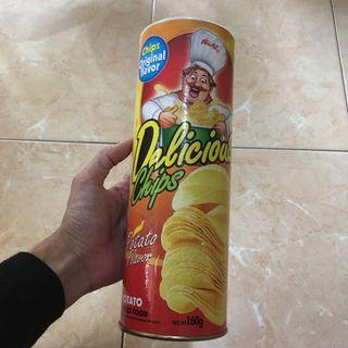 DISKON! POTATO CHIP PRANK