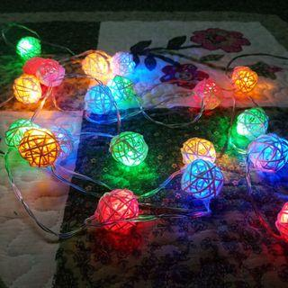 MURAH! [Include postage]Fairy Lights colourful