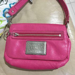 Coach poppy pink vintage asli