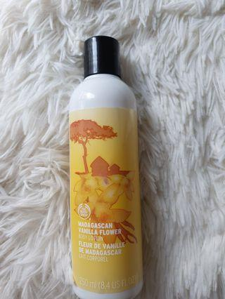 The Body Shop Madagascan Vanilla Flower Body Lotion