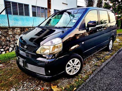 NISSAN SERENA 2.0(A) HIGH-WAY STAR 2008_TIPTOP_BLACKLIST CAN LOAN