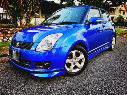 SUZUKI SWIFT 1.5(A) FULL SPEC 2011_FULL BODYKIT_KEYLESS START_TIPTOP_BLACKLIST CAN LOAN