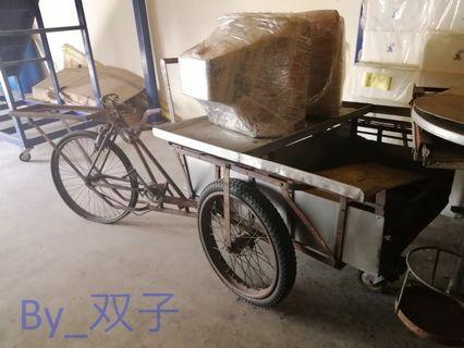 Jual Beca Lama/ Basikal Tiga Roda lama