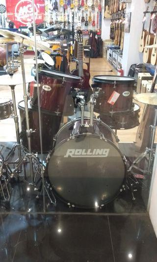 Drum set Rolling 1026 ( kredit)