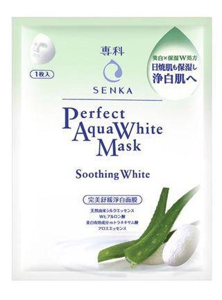 專科SANKA完美舒緩淨白面膜