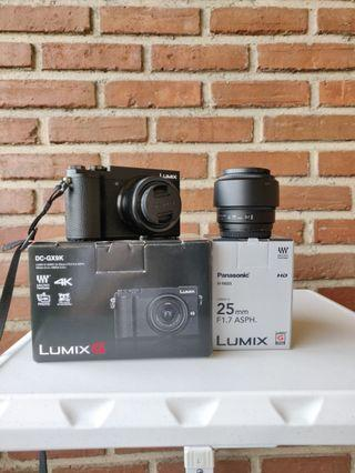 Panasonic Lumix GX9 Bundling 2 Lensa