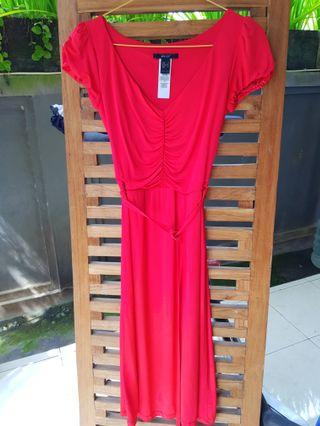 #ShopbackCarousell Party Mididress Red