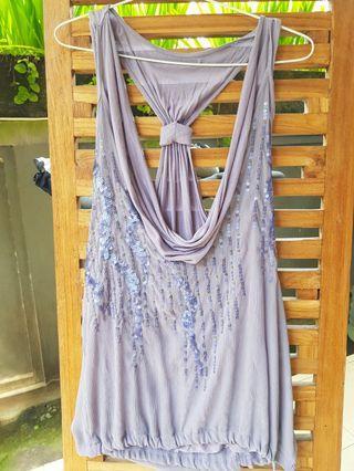 #ShopbackCarousell Sequin Light Purple Tops
