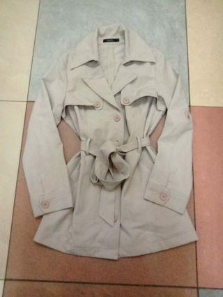 Nichii Beige Coat Dress