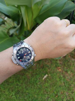 Citizen Promaster Aqualand C500 Depth Meter Dive Watch