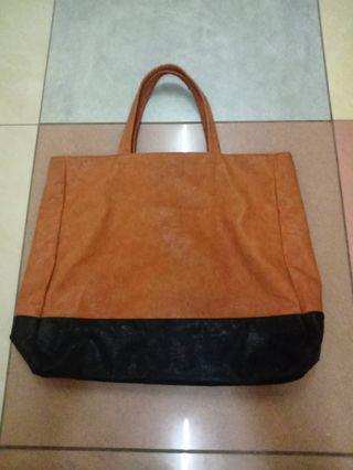 ASOS Leather Tote Bag