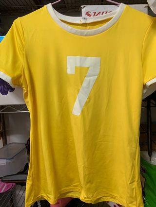 黃色7套裝