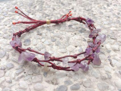 紫水晶開運手環