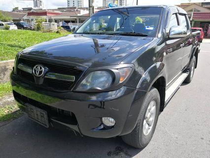 TOYOTA HILUX 2.5(A) 4WD 2007_TIPTOP_NAME CLEAR CAN FULL LOAN_MONTHLY 993