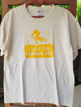 #ShopbackCarousell Vintage Tshirt 'I Love The Morning Ride'