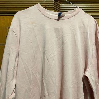 Peach H&M long shirt