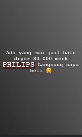 Cari hair dryer philips