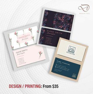 DESIGN + PRINT NAMECARD / FLYER / POSTER