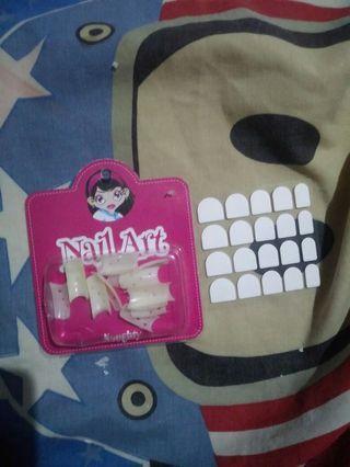Kuku palsu nail art fake nail + glue