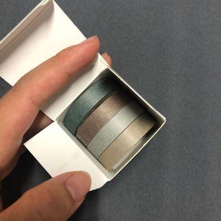 實拍🔥 灰綠的安靜 紙膠帶