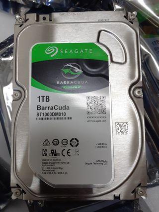 Hdd pc 1TB sgt baracuda new