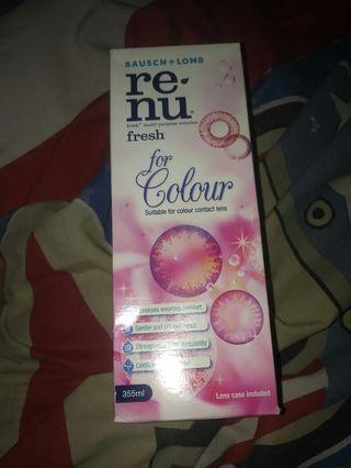 Renu re nu re-nu fresh for colour solution