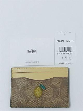 Coach cardholder wallet