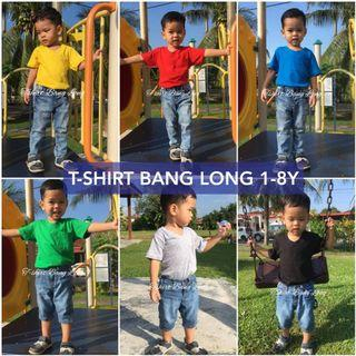 Plain Tshirt Bang Long