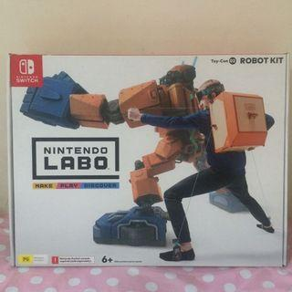 【Nintendo 任天堂】Switch 實驗室Labo Toy-Con02 ROBOT KIT機器人
