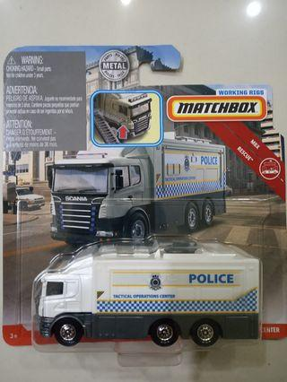 Matchbox 2019 Working Rigs - Wave 2 - Scania Tactical Command Center