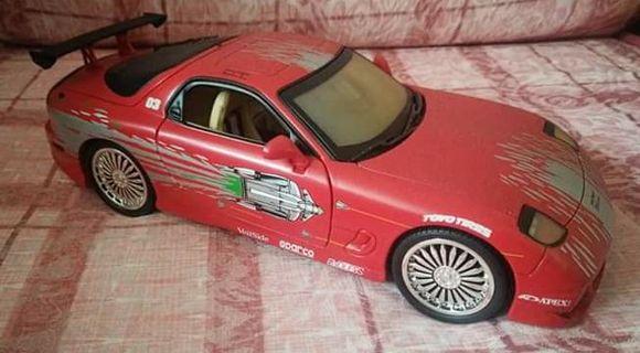 ERTL Fast & Furious Mazda RX-7 1:18