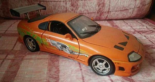 ERTL Fast & Furious Brian's Toyota Supra 1:18